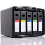 ORICO HDD Protection Box PHB35-5 [ORI-HDD-PRTEC-PHB-35-BK]  -  Black - Hdd External Case